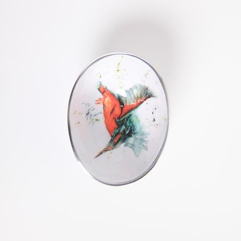 Petite Oval Bowl - Kingfisher