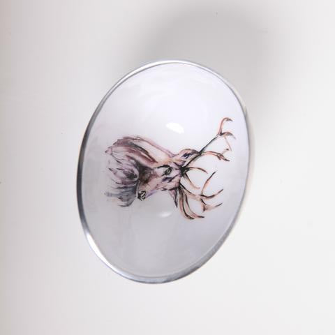 Petite Oval Bowl - Stag
