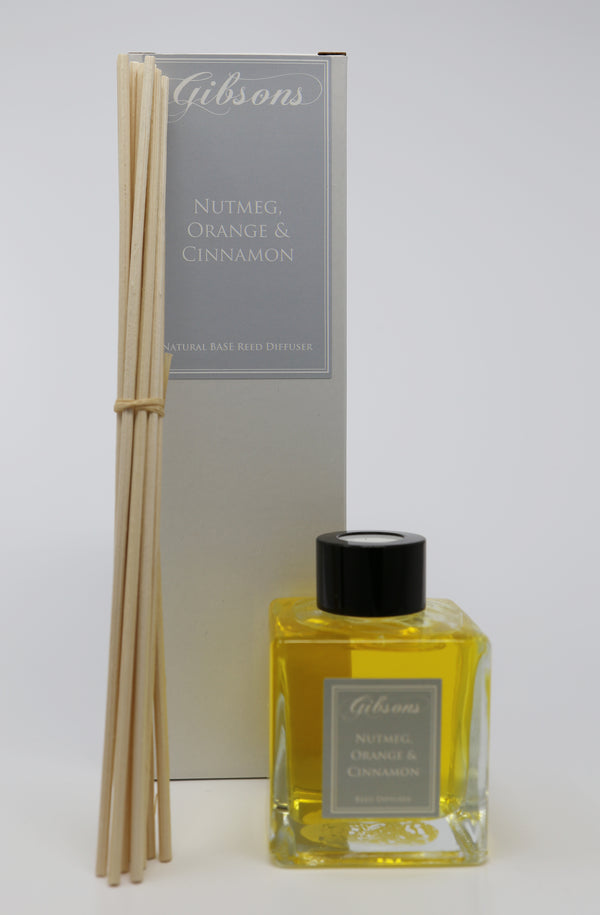 Nutmeg, Orange & Cinnamon Reed Diffuser- 100ml