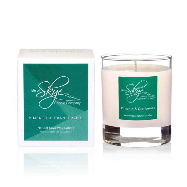 Pimento & cranberries Tumbler Candle