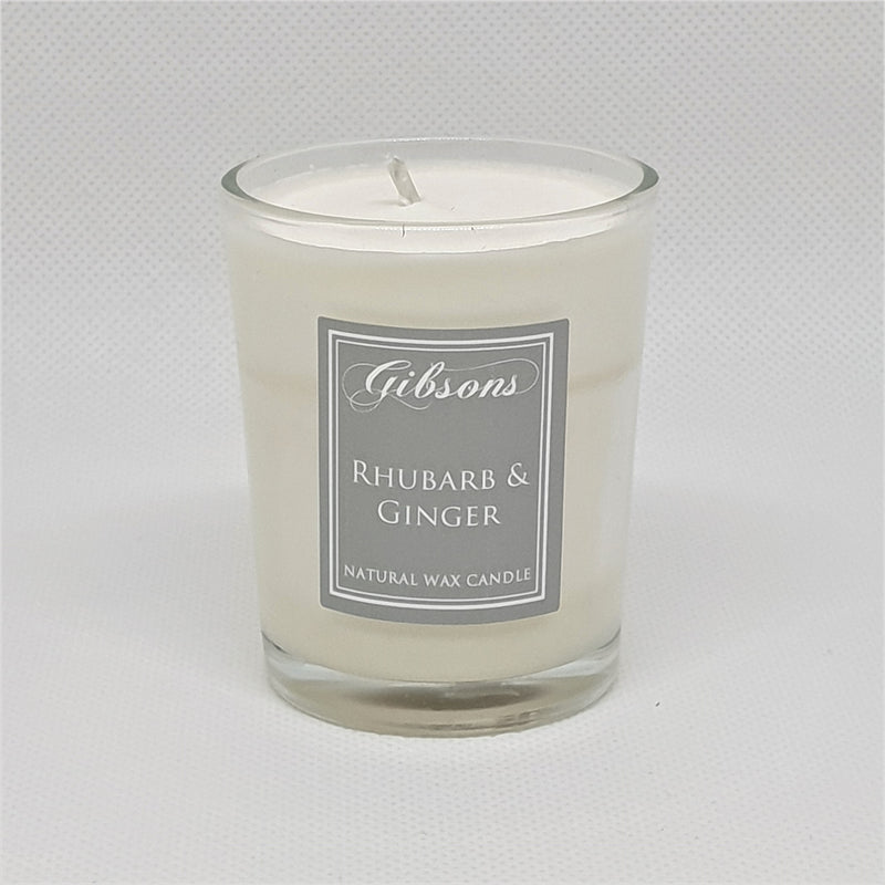 Gibsons Votive - Rhubarb & Ginger