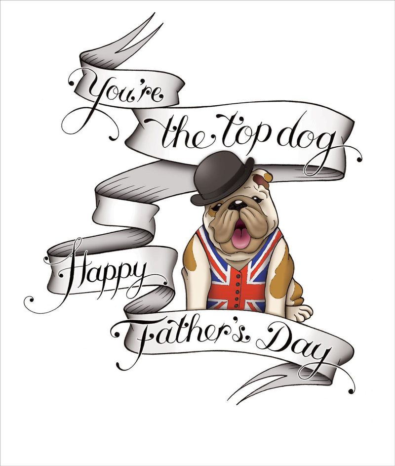 Top Dog Father's Day Card