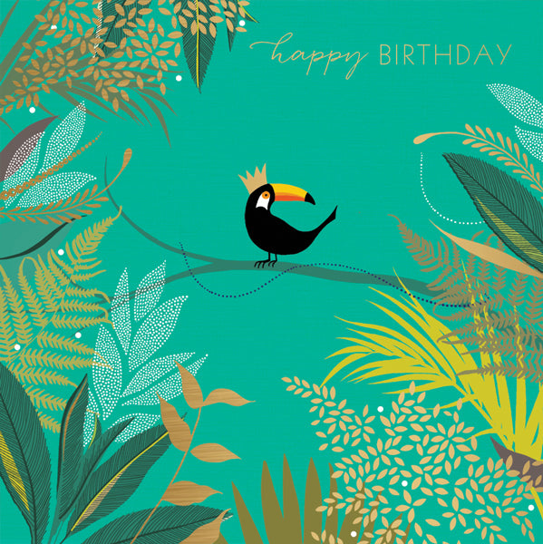Happy Birthday Toucan Card