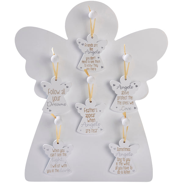 Hanging Angel Decoration With Sentiment