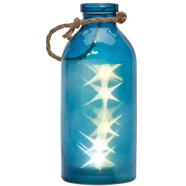 Not So Giant LED Stars In A Bottle, Blue