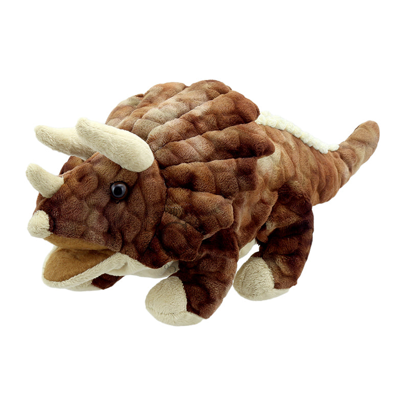 Baby Triceratops Hand Puppet