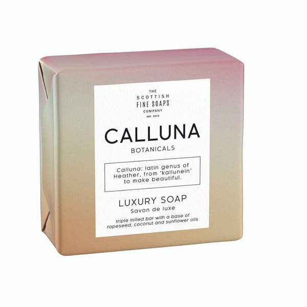 Calluna Botanicals Luxury Soap Wrapped