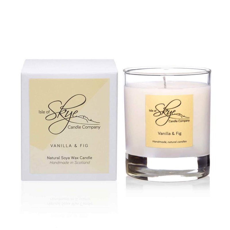 Vanilla & Fig Small Tumbler Candle