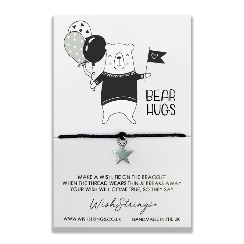 Bear Hugs WishStrings Bracelet