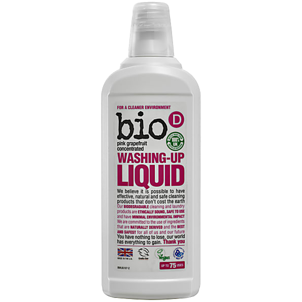 Bio-D, Concentrated Washing Up Liquid