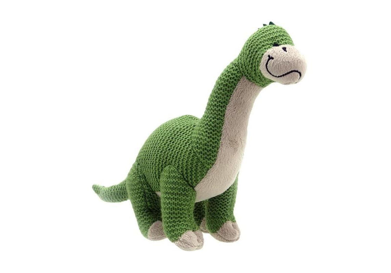 Knitted Brontosaurus Soft Toy
