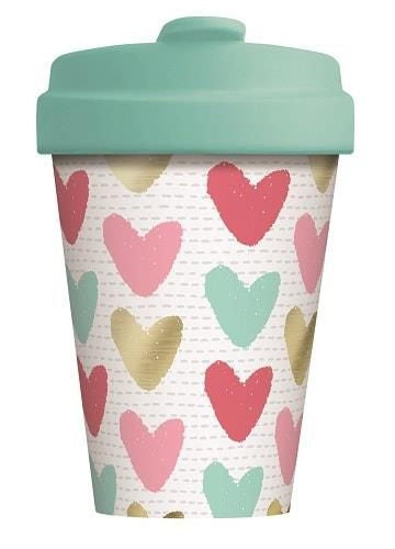 BambooCup - Happy hearts gold
