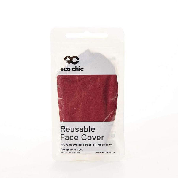 Eco Chic Face Covering - Red