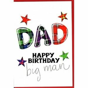 Big Man Father's Day Card