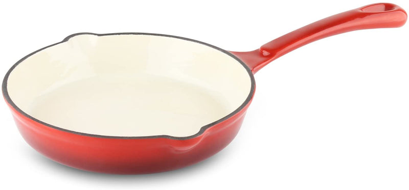 Commichef Round Cast Iron Frying Pan- 17cm