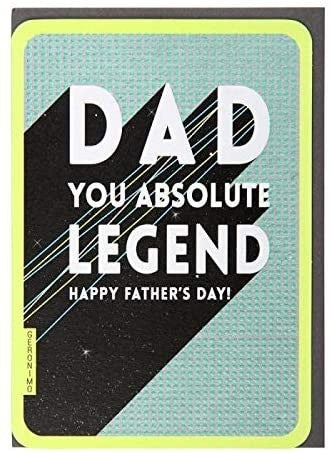 Absolute Legend Father's Day Card
