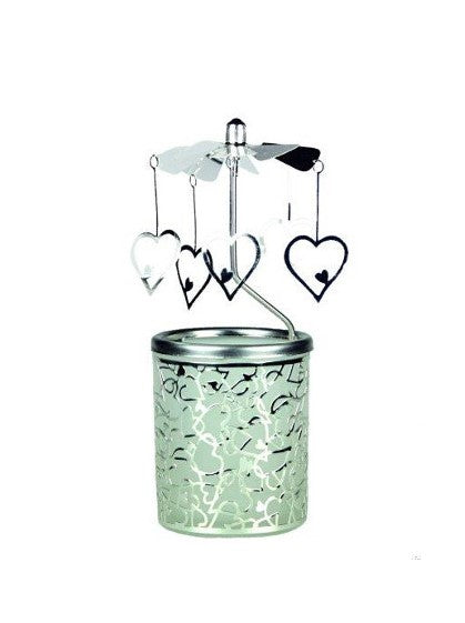 Hearts Carousel Candle Holder