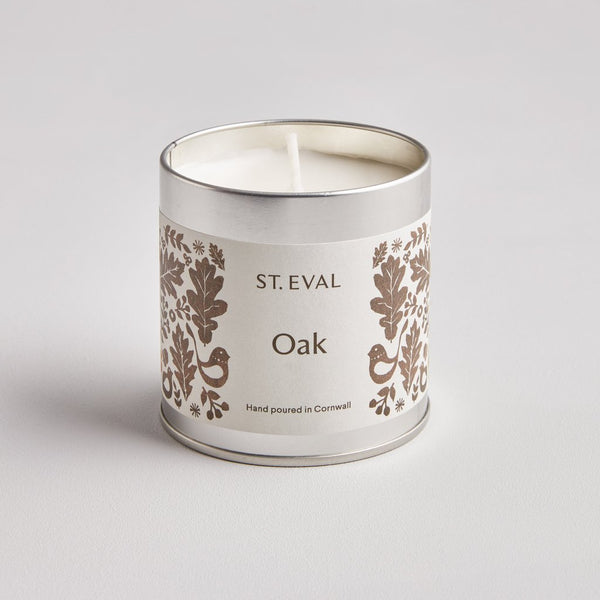 Oak Folk Scented Tin Candle