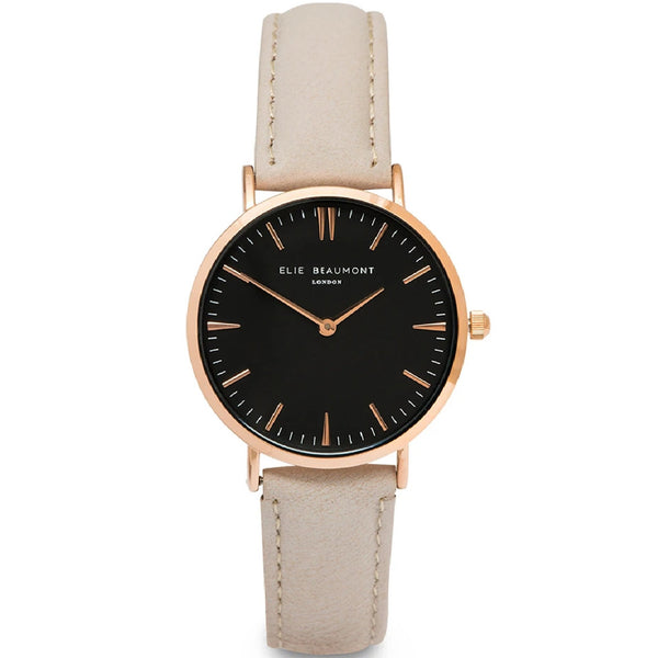 Oxford Large Watch - Stone/Black