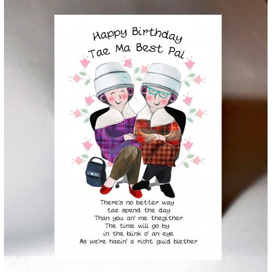 Best Pal Birthday Card