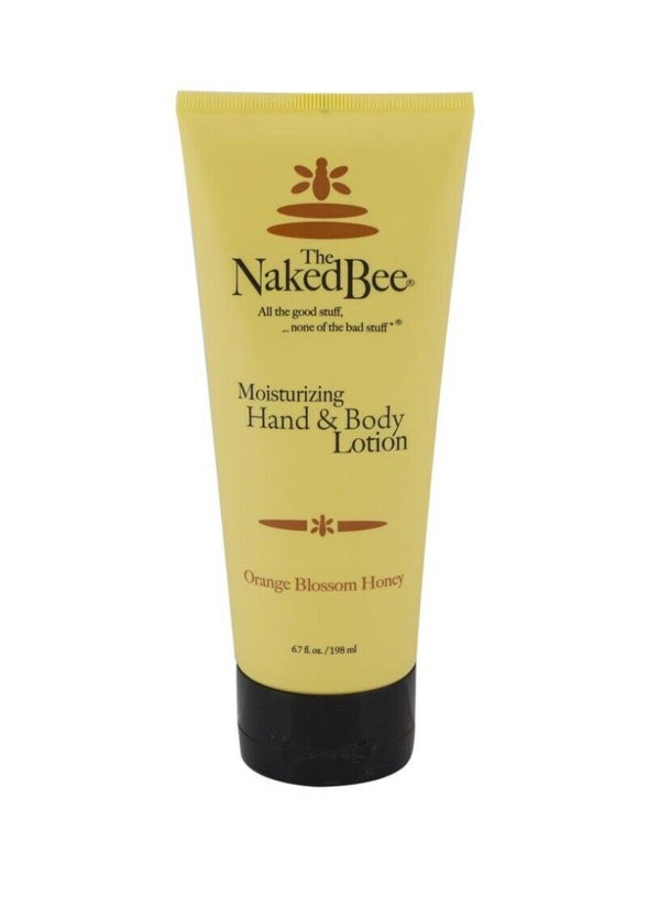The Naked Bee Orange Blossom Honey -Moisturising Hand & Body lotion - 6.7floz