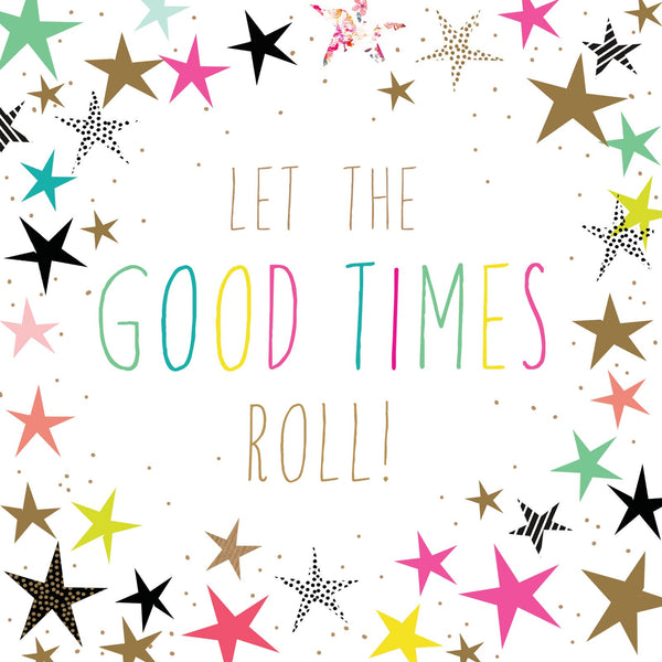 Let The Good Times Roll! Card