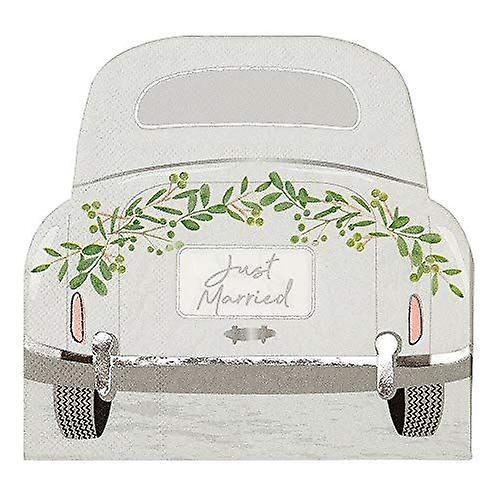 Just Married Paper Napkins