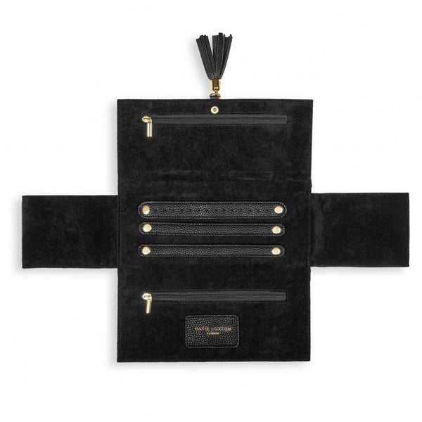 Tassel Jewellery Roll, Tres Chic, Black
