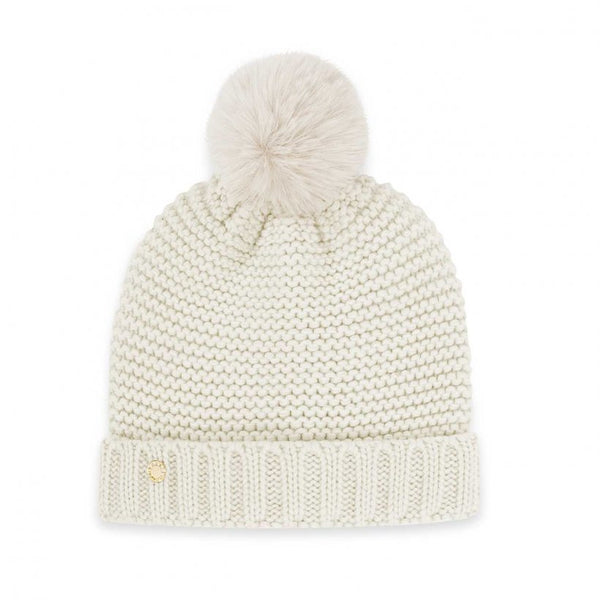 Chunky Knit Hat, Cream