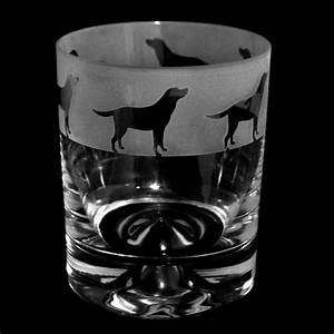 Labrador Whisky Glass