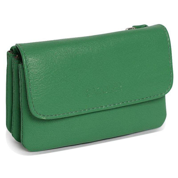 Lily Leather Flapover Coin Purse
