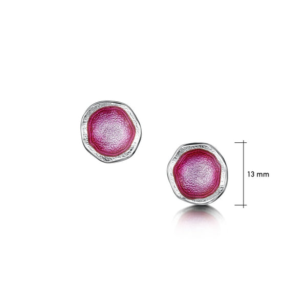 Lunar Bright Small Stud Earrings