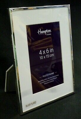 Mayfair Silver Plated Picture Frame 4 X 6""