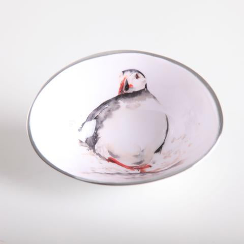Petite Oval Bowl - Puffin
