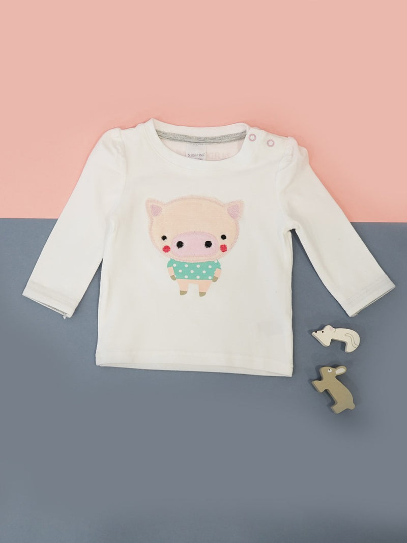 Pig Long Sleeve Top