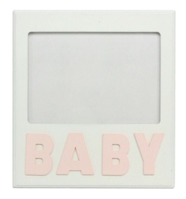 Wooden Baby Picture Frame