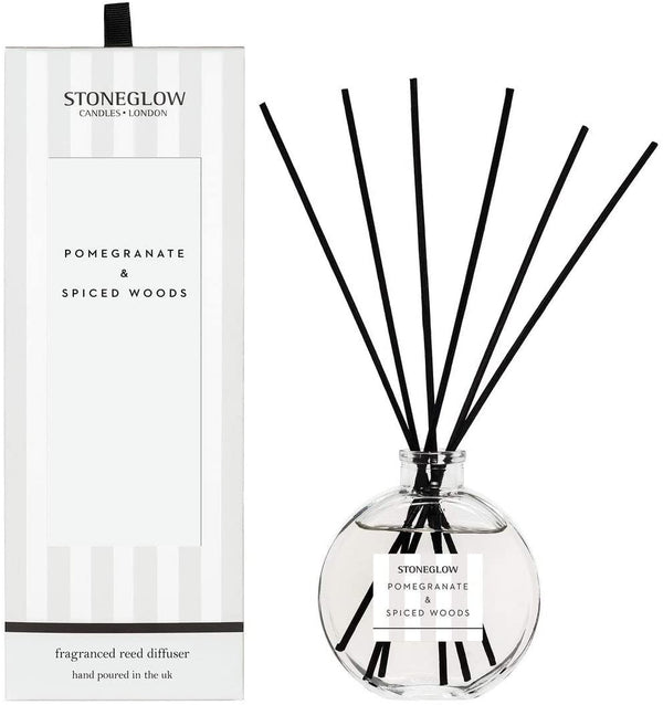 Pomegranate & Spiced Woods Reed Diffuser
