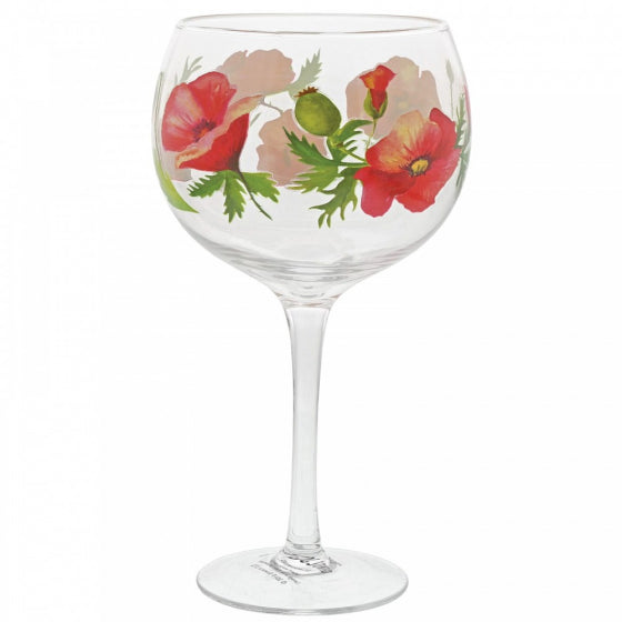 Poppies Gin Copa Glass