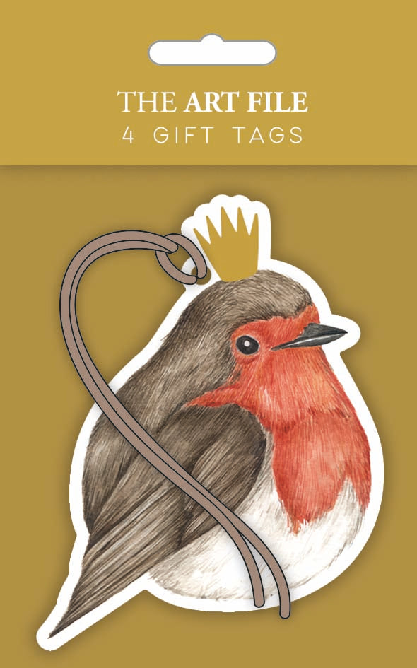 Robin Gift Tags- Pack of 4