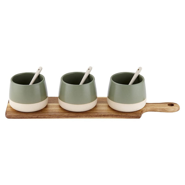 Bowl And Spoon Paddle Set