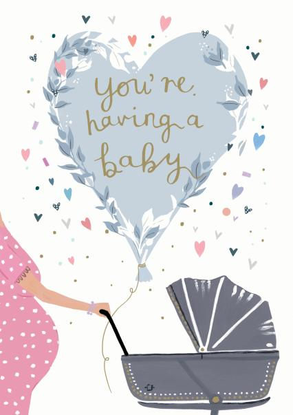 You're Leaving To Have A Baby Card