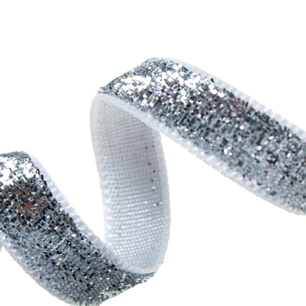Silver Sparkle Ribbon- 3M
