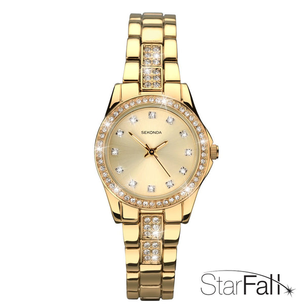 Women's Starfall Gold Watch