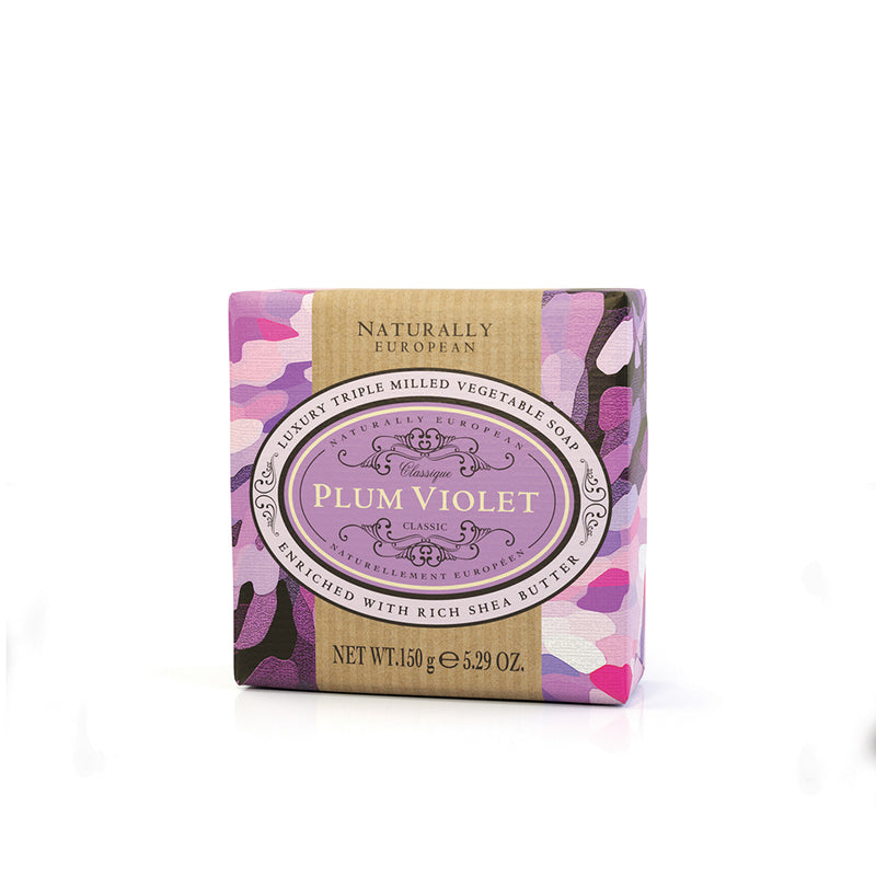 Plum Violet Luxury Soap Bar