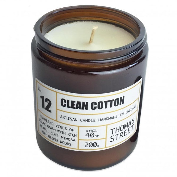 Clean Cotton Artisan Candle, 200g