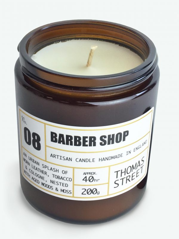 Barber Shop Artisan Candle, 200g