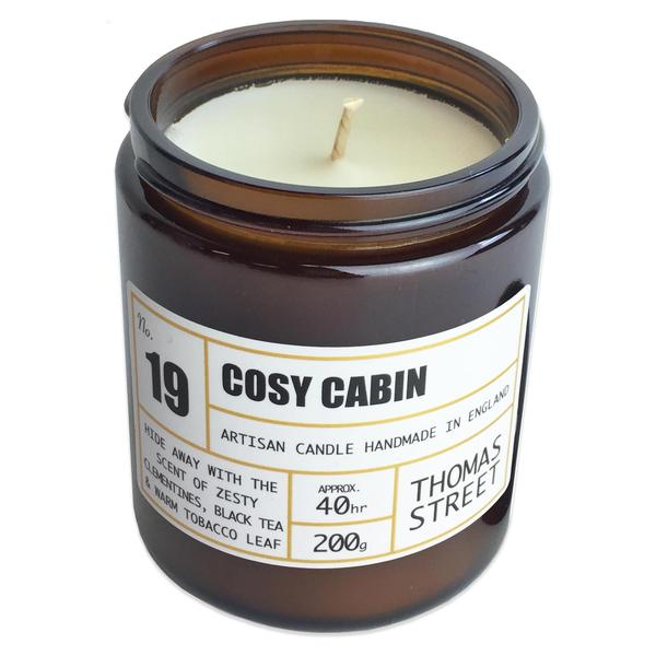 Cosy Cabin Artisan Candle, 90g & 200g