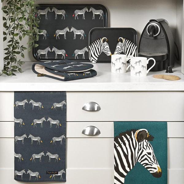 Zebra Tea Towel