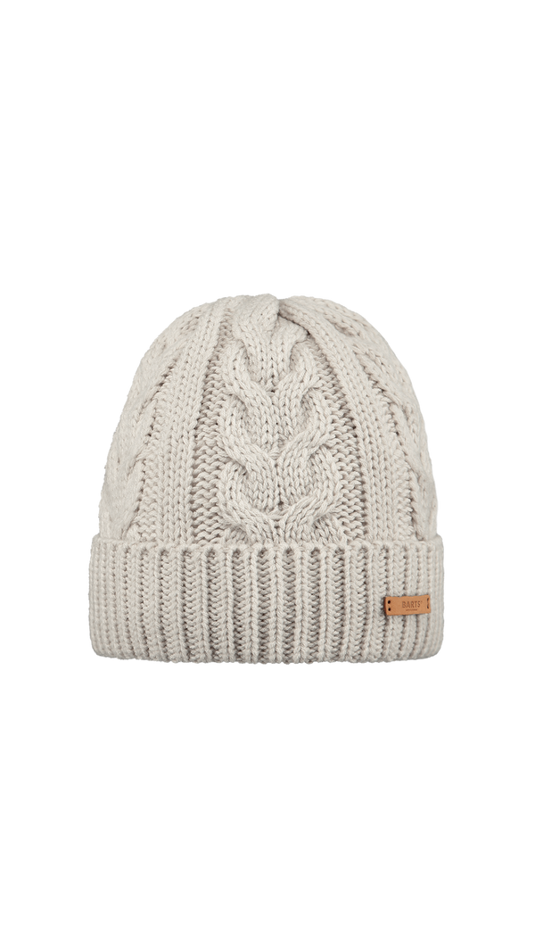Zira Cable Knitted Beanie- Oyster