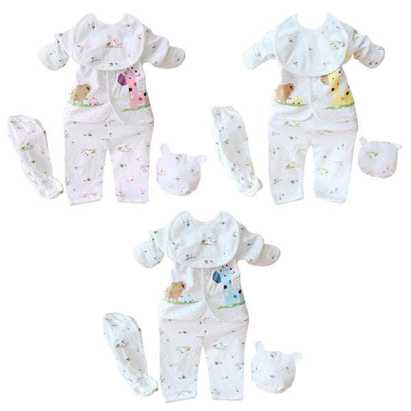 5 Pieces Infant Clothes